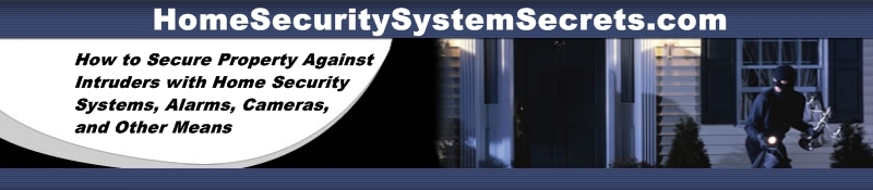 home security system header